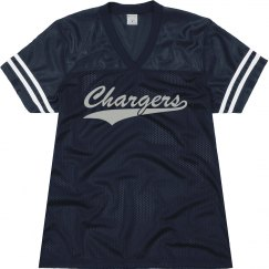 North River Christian chargers shirt.