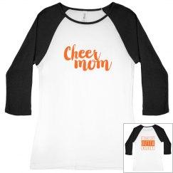 Cheer Mom- Straight Outta Money