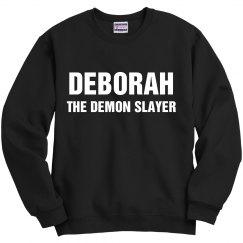 Deborah the demon slayer