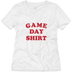Game Day Shirt Boyfriend Tee