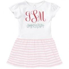 Toddler Baby Rib Dress