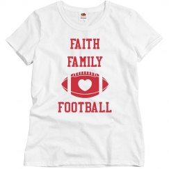 Faith Family Solid tee white