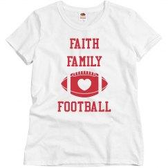 Faith Family Solid tee white