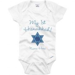 1st Hanukkah Baby