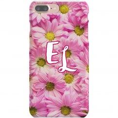 Floral Monogram Phone Case