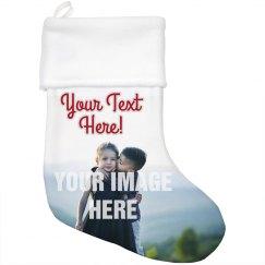 Custom Christmas Photo Stocking