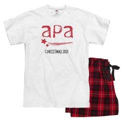 Ladies APA Holiday Pajamas