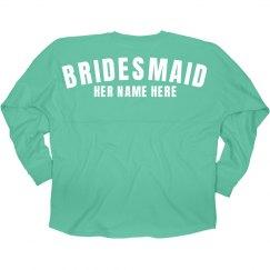 Team Bride Custom Bridesmaid