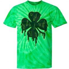 Shamrock Grunge Tie Dye