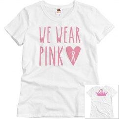 we wear pink t