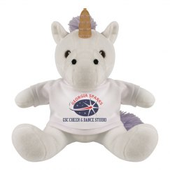 Georgia Sparks 8 INCH UNICORN STUFFED ANIMAL