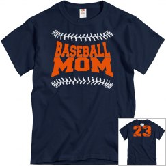 Baseball Mom Seams w/ #