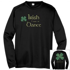 Irish Dance Dri-Fit Warmup - Light Gold
