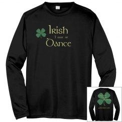 Irish Dance Dri-Fit Warmup - Light Gold