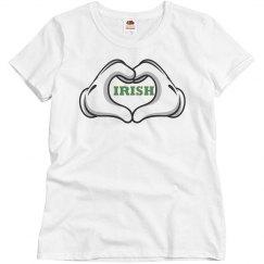 Irish Heart Tee Shirt