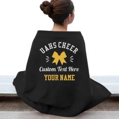 Custom Team Name/Colors Cheerleader