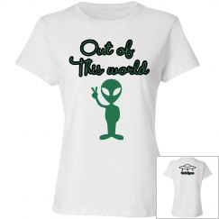 Out of this world Alien Tshirt
