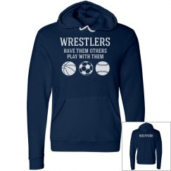 Wrestlers have them