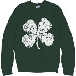 Vintage Shamrock St Patricks Day
