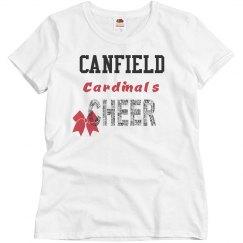 canfield cheer tee