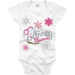 Country Christmas Onesie