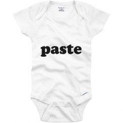 Paste Twin Onesie