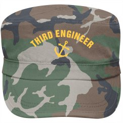 Third Engineer Cap