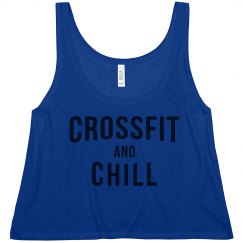 CrossFit and Chill Crop Top