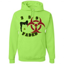 239FADED NEON GREEN SWAG HOODIE