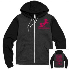Competition zip up hoodie