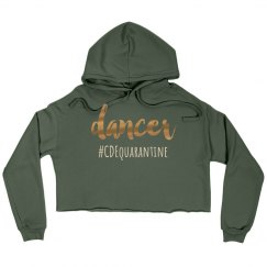 #CDEquarantine Hooded Crop