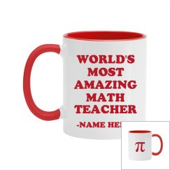 Custom Amazing Math Teacher