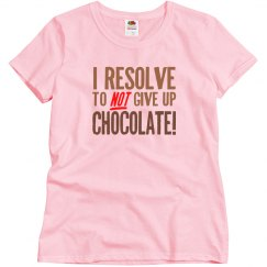 Chocolate Resolution