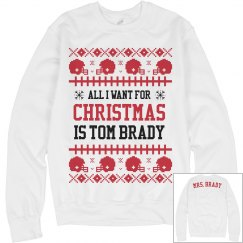 Mrs. Brady Ugly Sweater