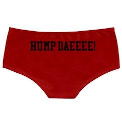 Ladies Hotshort Underwear -Hump Daeee