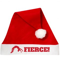 Fierce Cheer Santa Hat for the Girls on the Squad