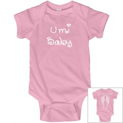 Umi Baby Mommy's Little Angel Onesie