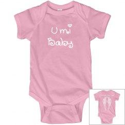 Umi Baby Mommy's Little Angel Onesie