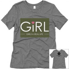 Womens  Bella Canvas's Relaxed Fit Triblend Tee