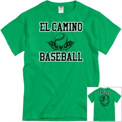 EL CAMINO BASEBALL - KELLY GREEN Distressed