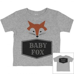 MATCHING SET Baby Fox Shirt