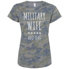 Custom Army Wife Camo