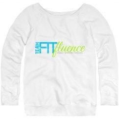 TFF Women's Wide Neck Sweatshirt