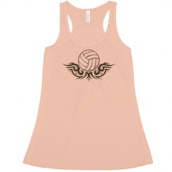 Volleyball tank- henna