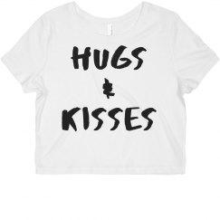 Hugs and Kisses Crop Top