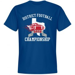 Custom Football Tournament Tee
