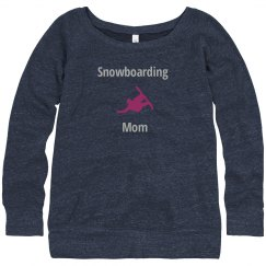 Snowboarding Mom