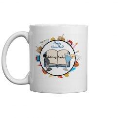 Literary Lushes Hanukkah Edition Mug