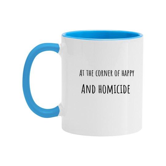 Accidental Happy Mug