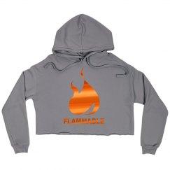 Fire Crop Hoodie